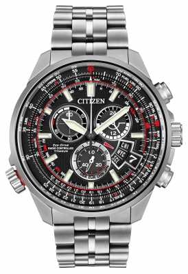 Citizen Mens Chrono-Time A-T Titanium Eco-Drive BY0120-54E