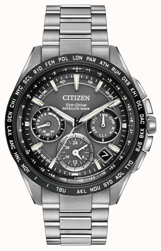 e6cabdbf5c9 Citizen Mens F900 GPS Satellite Wave Chrono CC9015-71E - First Class ...