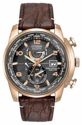 Citizen Mens Limited edition World Time, Rose Gold AT9013-11E