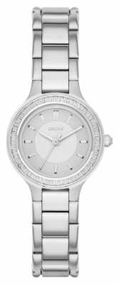 DKNY Womens Chambers Stone Set Stainless Steel NY2391