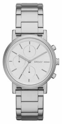 DKNY Ladies SoHo Stainless Steel Chrono NY2273