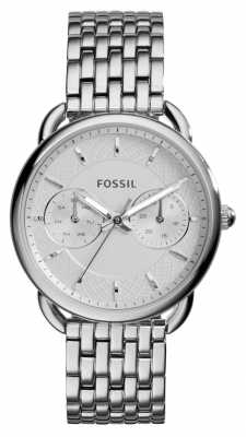 Fossil Womens Tailor Stainless Steel ES3712