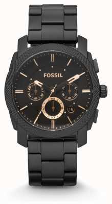 Fossil Mens Machine Black PVD Plated FS4682