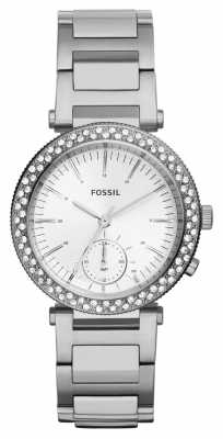 Fossil Womens Urban Traveler Stainless Steel ES3849
