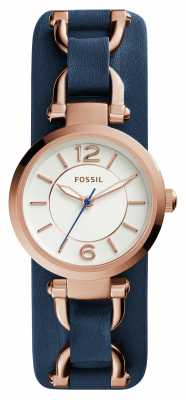 Fossil Womens Georgia Artisian Leather ES3857