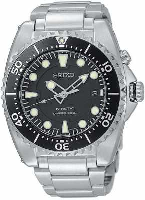 Seiko Kinetic 200 Meter Dive Mens Watch SKA371P1
