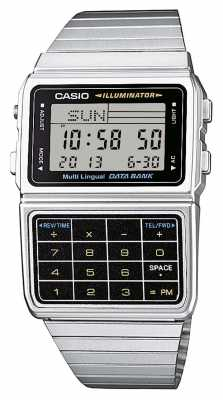 Casio Calculator Watch Mens Retro Collection DBC-611E-1EF