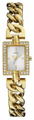 Guess Womens Trend Gold Plated Stone Set W0540L2
