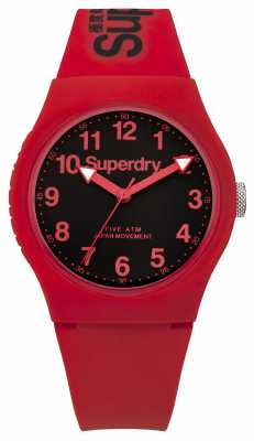 Superdry Mens Urban Red Strap Red Dial SYG164RB