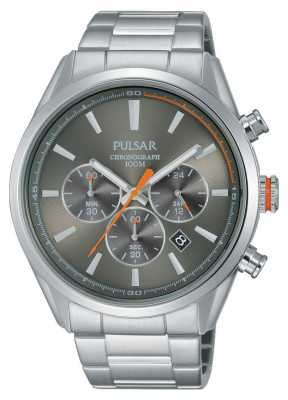 Pulsar Mens Chronograph Stainless Steel PT3725X1