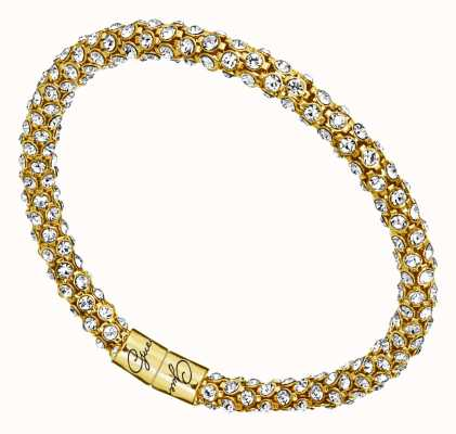 Guess Womens Glamazon Gold Swarovski Bangle UBB81333