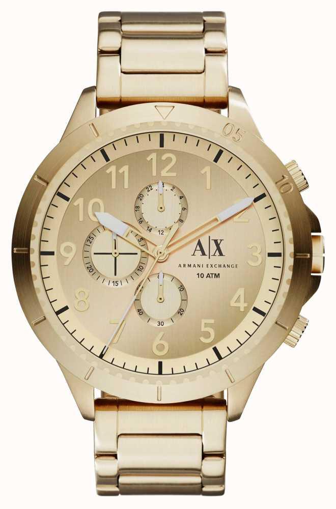 9eac575a Armani Exchange Aeroracer Mens Chronograph Watch