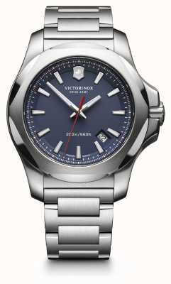 Victorinox Swiss Army I.N.O.X. Stainless Steel Blue Dial Mens 241724.1