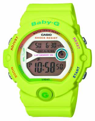 Casio Baby-G Neon Green Alarm Chronograph BG-6903-3ER