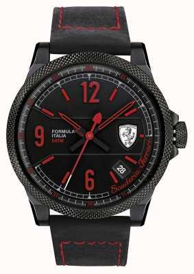 Scuderia Ferrari Formula Italia S Black/ Red Watch 0830271