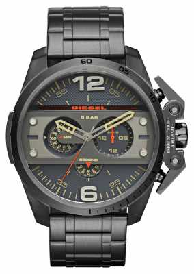 Diesel Mens Ironside Gun Metal Grey Chronograph DZ4363