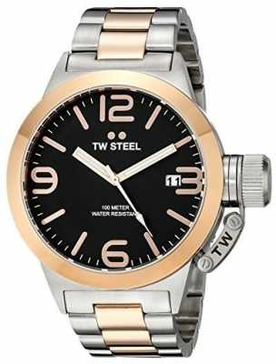 TW Steel Mens 45mm Canteen Two Tone CB131