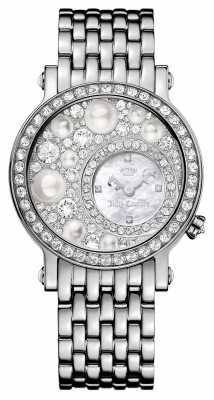 Juicy Couture Womens LA Luxe Stainless Steel Pearl Dial 1901348