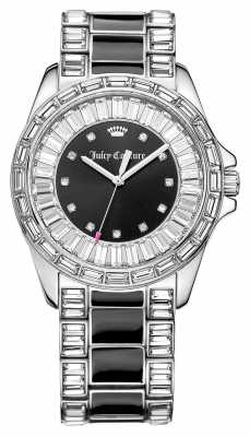 Juicy Couture Womens Laguna Stainless Steel Stone Set 1901350