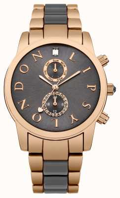 Lipsy Womens Two Tone Sunray Dial LP358