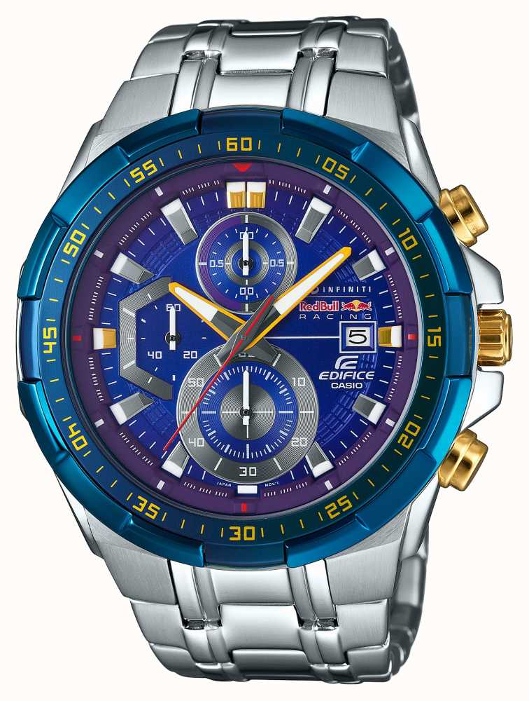 casio edifice red bull chronograph limited edition efr. Black Bedroom Furniture Sets. Home Design Ideas