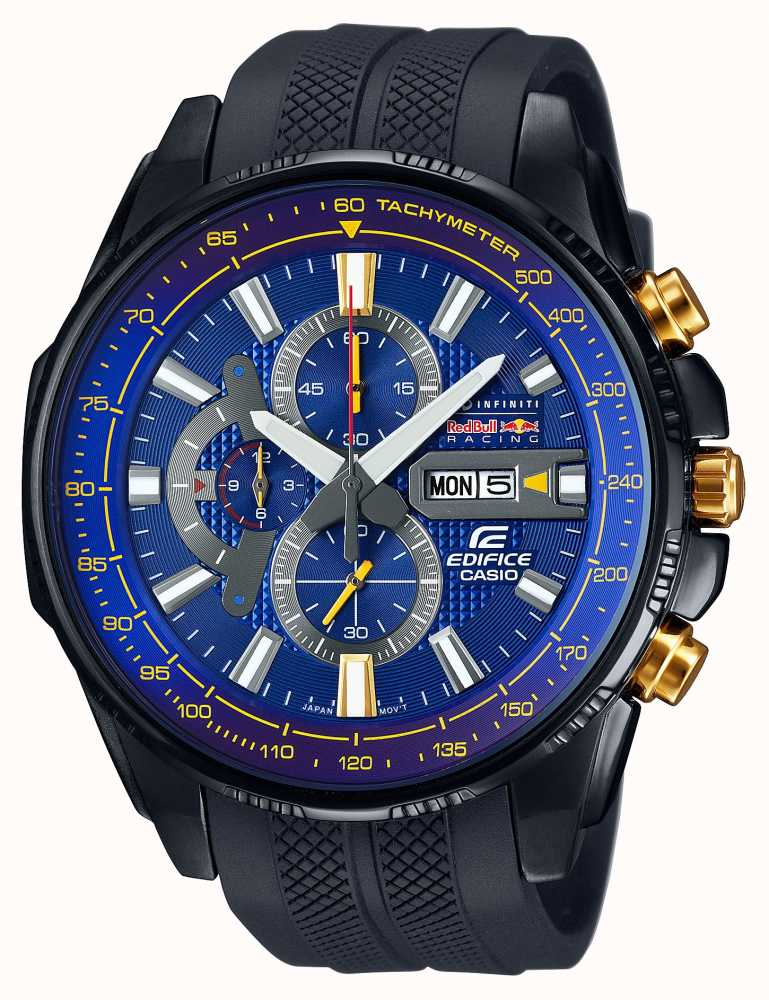 casio edifice red bull limited edition chronograph efr. Black Bedroom Furniture Sets. Home Design Ideas