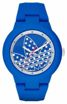 adidas Originals Womens Aberdeen Blue Silicone Strap ADH3049