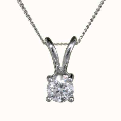 18ct White Gold 'Four Claw' - 0.20ct H SI FOURCLAW-P020