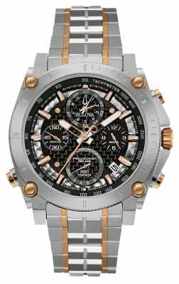 Bulova Mens Precisionist Chronograph Two Tone 98G256