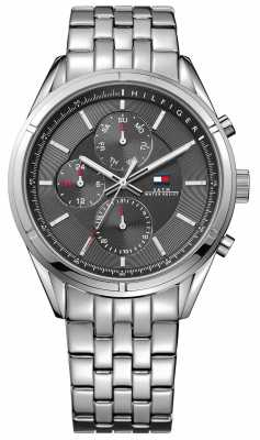 Tommy Hilfiger Mens Charlie Stainless Steel 1791130