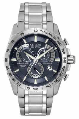 Citizen Radio Controlled Titanium A-T Chronograph AT4011-57L
