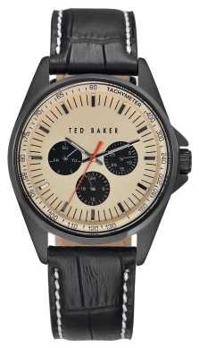 Ted Baker Mens Black Leather Strap TE1114
