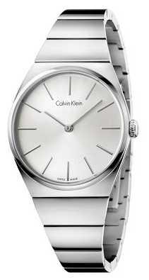 Calvin Klein Womens Supreme Stainless Steel Silver Dial K6C2X146
