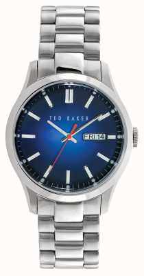 Ted Baker Mens Stainless Steel Blue Dial TE10023467