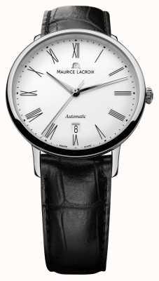 Maurice Lacroix Mens Les Classiques Automatic Date Black LC6067-SS001-110-1
