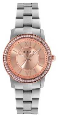 Ted Baker Womens Stainless Steel Bracelet Rose Dial TE4097