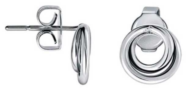 Calvin Klein Continue Stainless Steel Earrings KJ0EME000100
