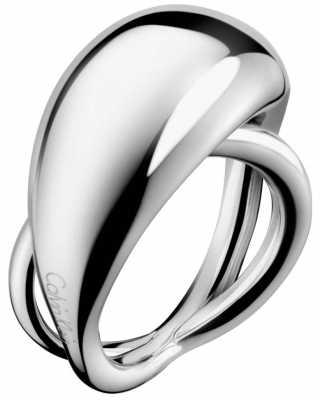 Calvin Klein Fluid Stainless Steel Ring