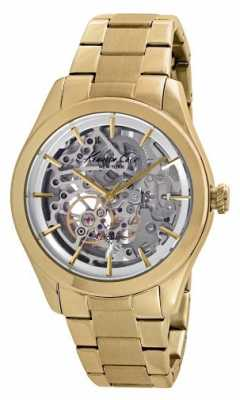 Kenneth Cole Womens Automatic Gold PVD Plated KC10025927