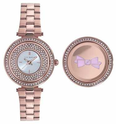 Ted Baker Womens Rose Gold Rotate Dial TE10023506