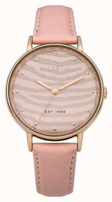 Fiorelli Womens Pink Leather Strap FO010CRG