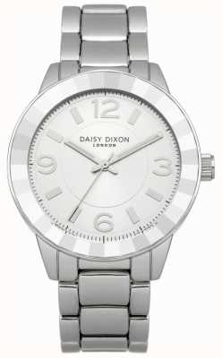 Daisy Dixon Womens Stainless Steel Bracelet Silver Dial DD014SM