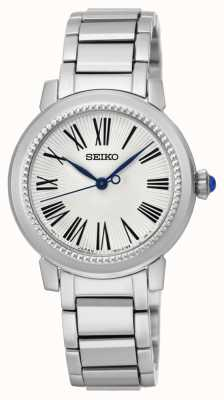 Seiko Womens Stainless Steel White Dial SRZ447P1
