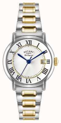 Rotary Mens Les Originales Carviano Two Tone GB90141/06