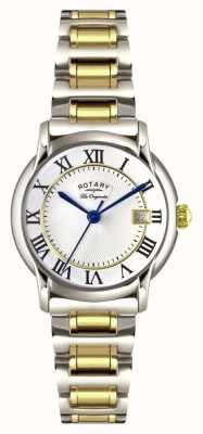 Rotary Womens Les Originales Carviano Two Tone LB90141/06
