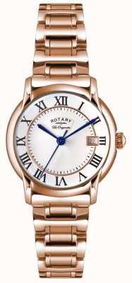 Rotary Womens Les Originales Carviano Rose Gold PVD LB90144/06