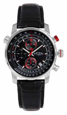 Rotary Gents Black Strap Manager's Special GS03641/04/L