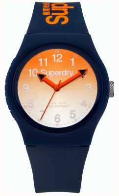 Superdry Unisex Urban Laser Blue Rubber Strap SYG198UO