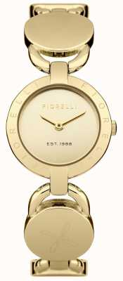Fiorelli Womens Gold Bracelet Gold Dial FO001GM