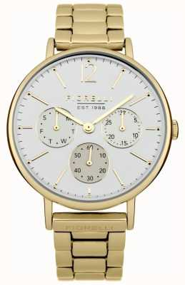 Fiorelli Womens Gold Bracelet White Dial FO002GM